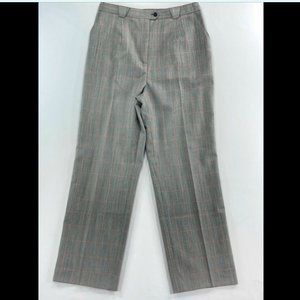 Vintage Super High Waisted PURE Silk Wool Trousers